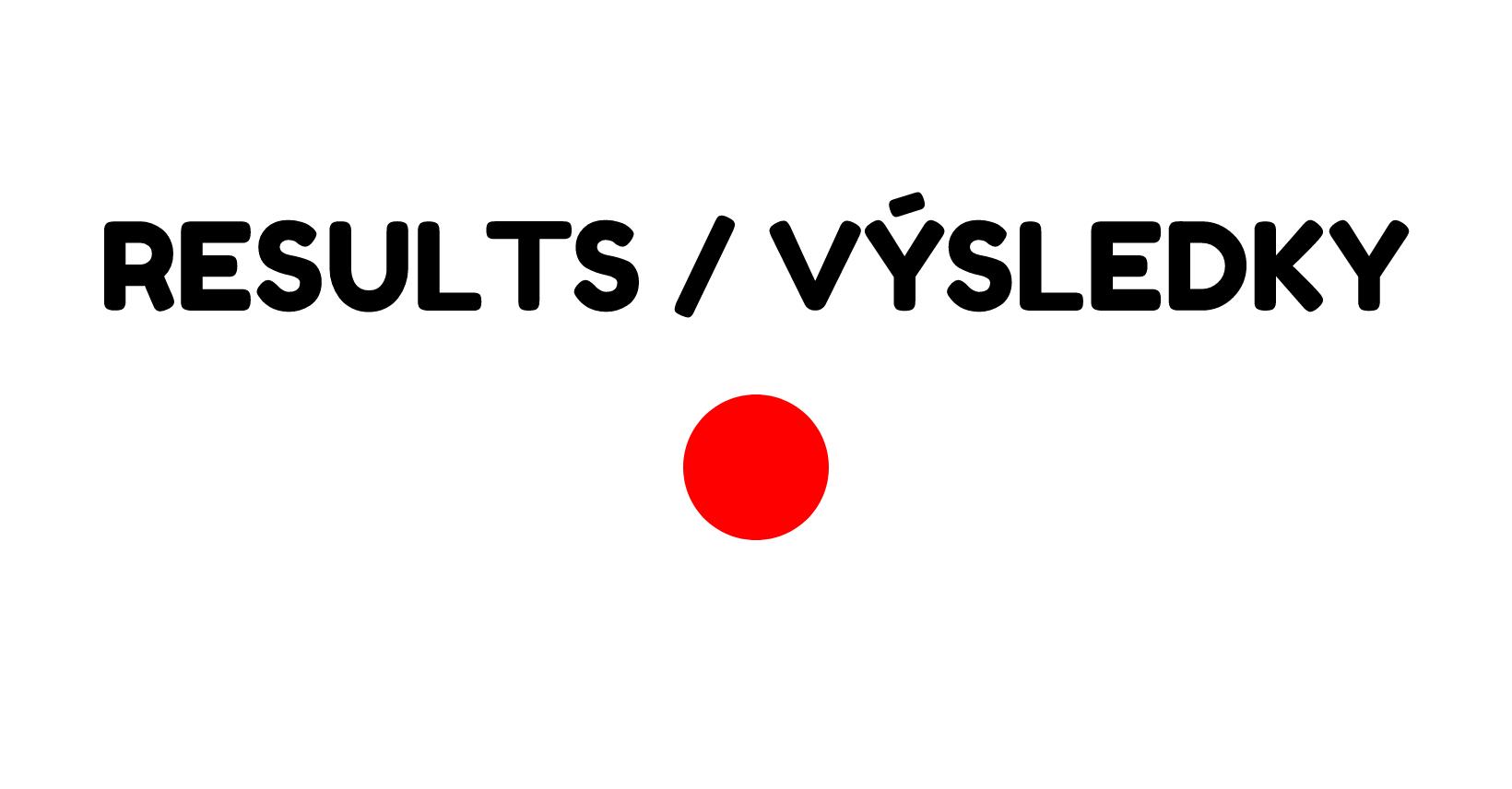 LIVE VÝSLEDKY / LIVE RESULTS